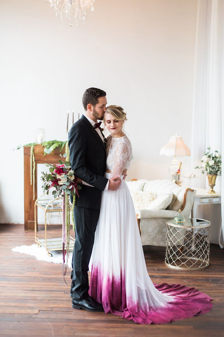 ombre wedding dress ombre wedding dress Dare To Be Dapper With Generation Tux Ombre Wedding DressCactus