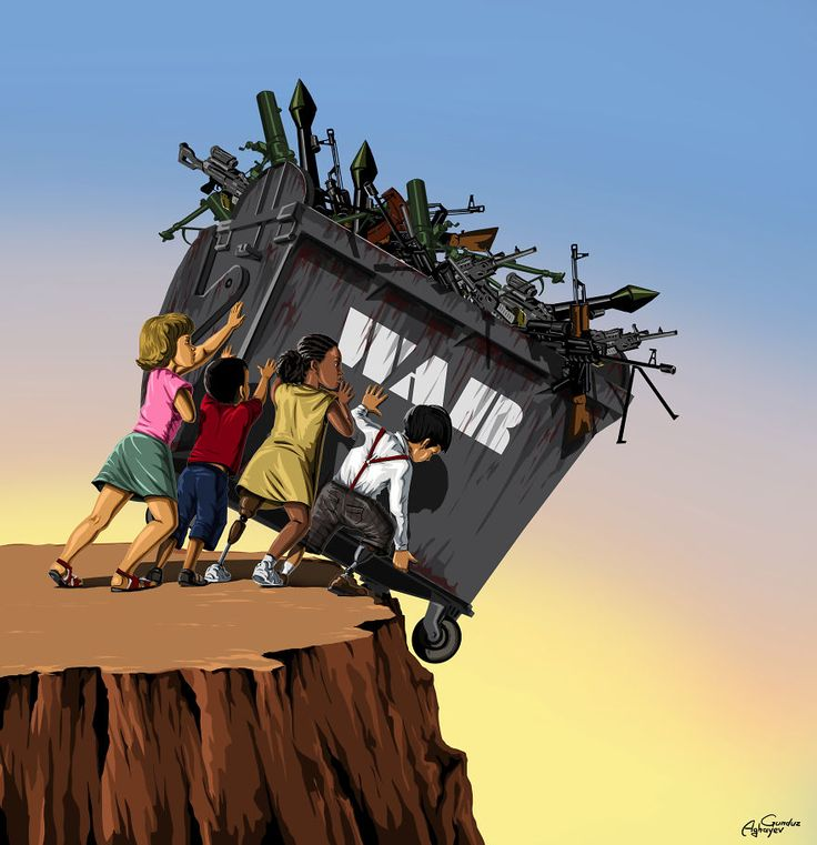 Muchos dicen que las guerras son situaciones creadas por las grandes naciones para impulsar la economía, la realidad es que esos eventos provocan ...
