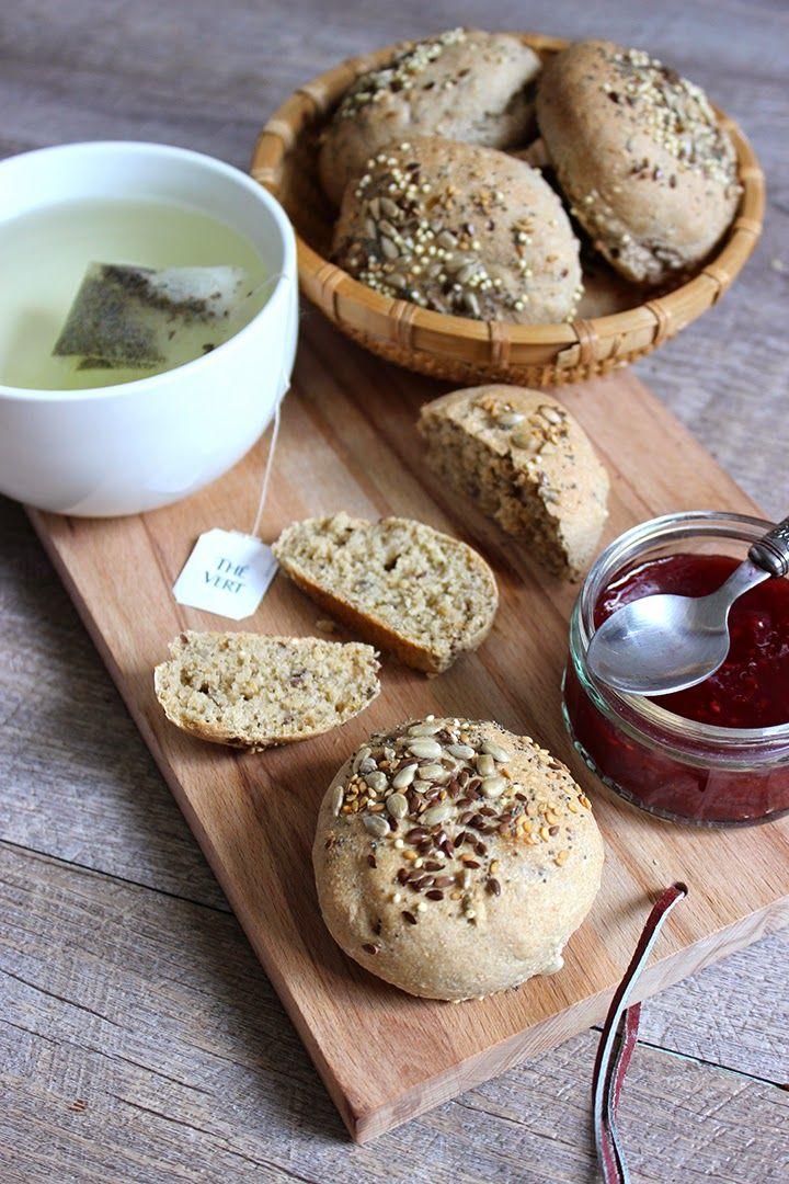 Blog Cuisine & DIY Bordeaux - Bonjour Darling - Anne-Laure: Petits pains complets aux céréales