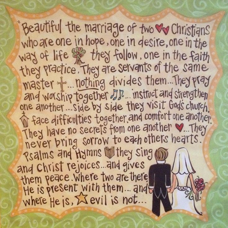 Beautiful the Marriage; Tertullian