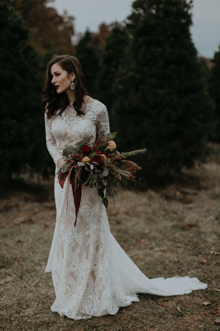 489 best Long Sleeved Wedding Dresses images on Pinterest  Austria Blossoms and Bridezilla