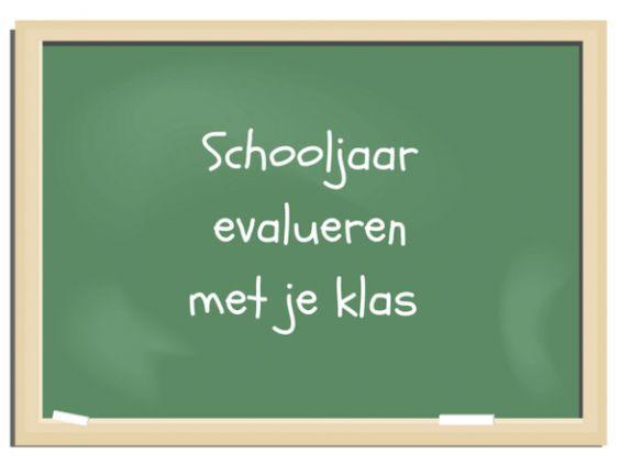 Hoe je het jaar kunt evalueren met je klas - www.jufmaike.nl