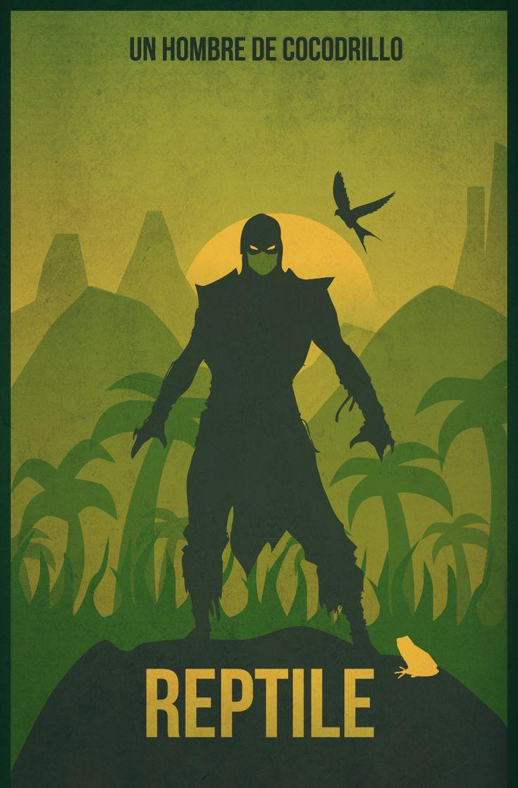 Reptile from Mortal Kombat by albertoo on deviantART
