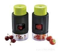 Deshuesador de cerezas y laminador de fresas - Ibili
