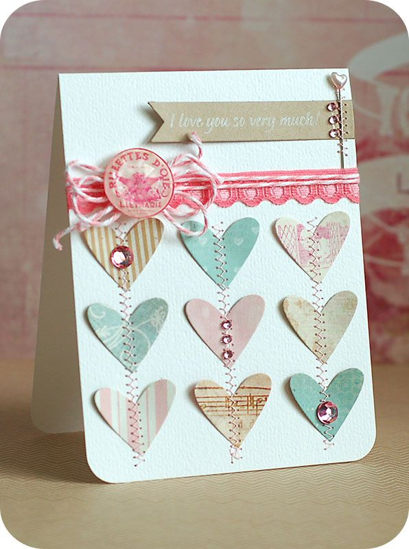 Lea LawsonCrafty Stuff, Crafts Ideas, Cards Ideas, Small Wedding, Cardmaking Gallery, Carvings Crayons, Paper Crafts, Lea Lawson, Heart Cards