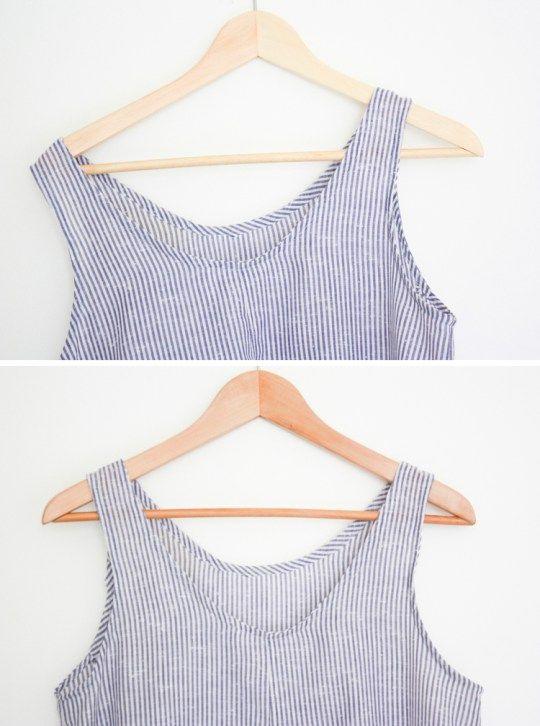 One Little Minute Blog- DIY Non-Slip Hanger from Ikea hanger