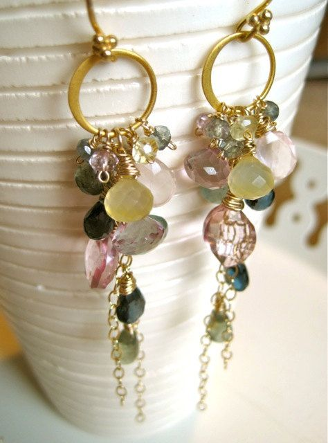 If I Had You Deluxe Gemstone Earrings