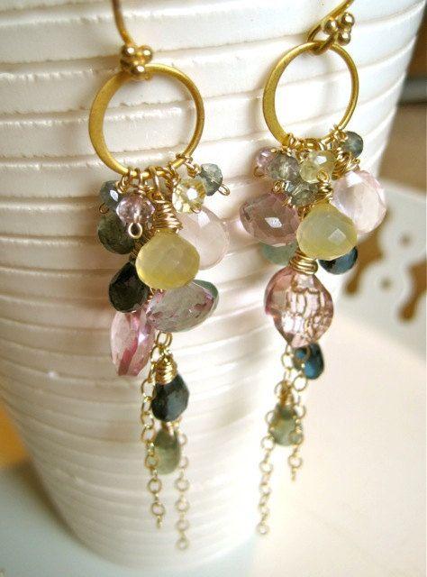 If I Had You Deluxe Gemstone Earrings