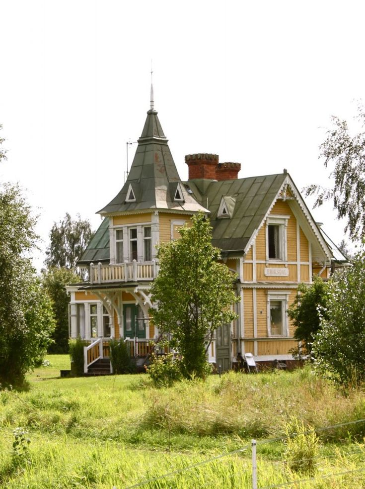 There's a Place for us... house in leksand, sweden, photo via dosfamily.com #architecture #sweden