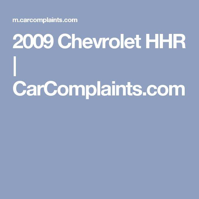 2009 Chevrolet HHR | CarComplaints.com