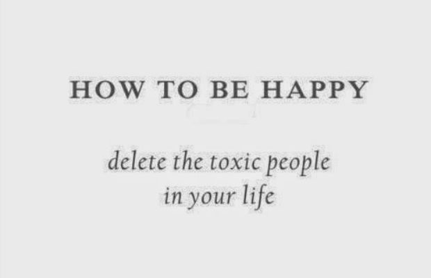 How to Get Rid of Toxic People Toxic people are often hard to get away from.  Whether its due to relationships, being in the same friend group, or simply dating the wrong person, having toxic people in your life can be both draining and exhausting.  Most of us leave these people in our lives because we simply don't know how...  Read More at http://www.chelseacrockett.com/wp/lifestyle/how-to-get-rid-of-toxic-people/.  Tags: #Advice, #Boldness, #Courage, #Distance, #Fr