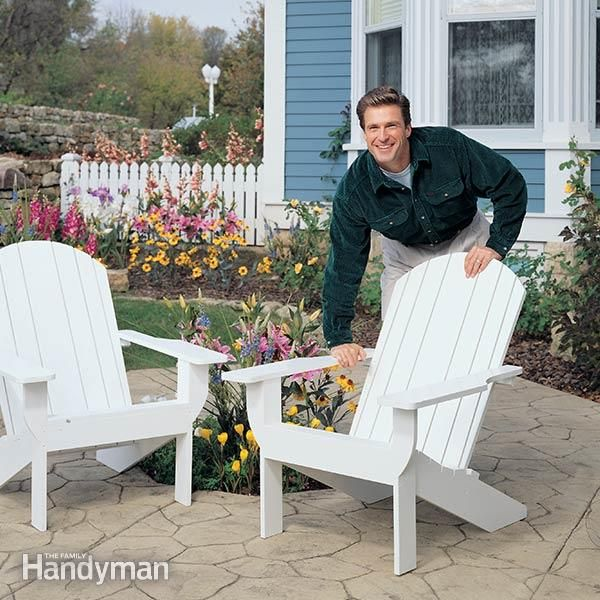 Adirondack Chair Plans Learn how to build a classic wooden Adirondack chair. With clear, detailed photo...