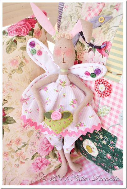 bunny Cute! Another friend for Tilda!!!!