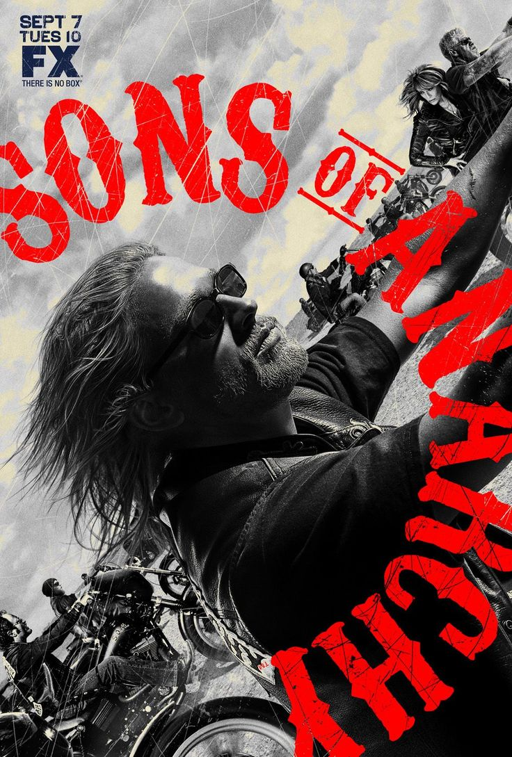 Charlie Hunnam Sons of Anarchy | Poster Sons of Anarchy Saison 3