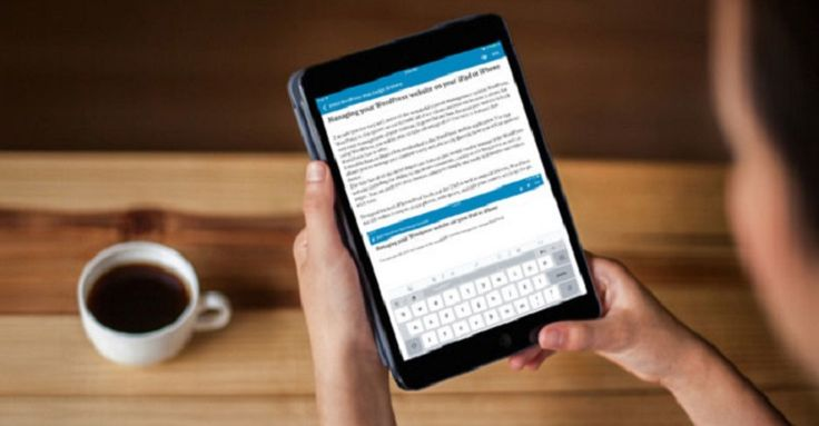 WordPress has a mobile application that allows you to manage your content easily and efficiently directly from your iOS or android device. Learn more of this powerful tool by clicking here: http://web3.com.au/wordpress-website-app-ipad-iphone/