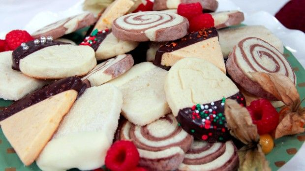 Holiday Icebox Cookies - Steven and Chris