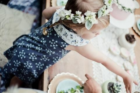 Whimsical Woodland Picnic – Little & Lively Photography: @efraserphoto Event Styling: @creativewifeandjoyfulworker Children's Outfit Styling: @littleandlively Outfit Makers: Dress: @littleandlively Fresh Floral Crowns: @mint.and.moss