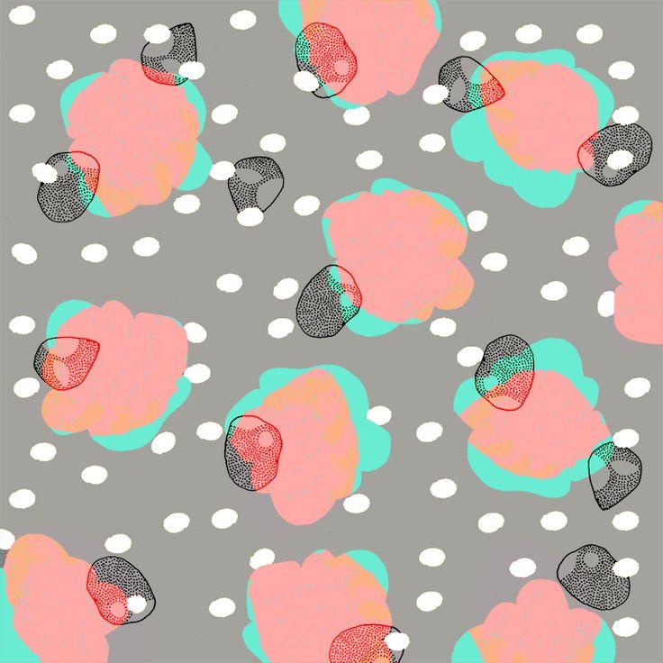 Pattern no 495Upset floral.