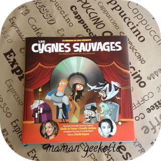 """Un livre CD """"Les Cygnes Sauvages"""" de chez La Maison du Son à gagner chez Maman geekette !! http://mamangeekette.blogspot.fr/2013/11/concours-les-cygnes-sauvages-la-maison_19.html?utm_source=feedburner&utm_medium=email&utm_campaign=Feed:+MamnGeekette+(Mam@n+geekette)"""