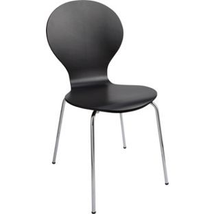 Buy Colourmatch Jet Black Bentwood Dining Chair At Argos
