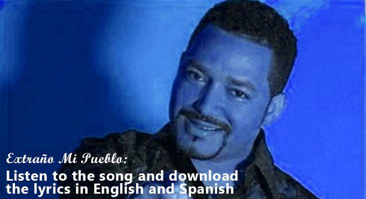 Frank Reyes Extraño Mi Pueblo Lyrics in Spanish & English side by side