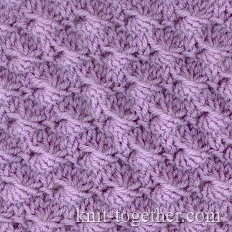Knitting Stitch Shell : 47 best images about Esquemas y puntos calceta on Pinterest Knit patterns, ...