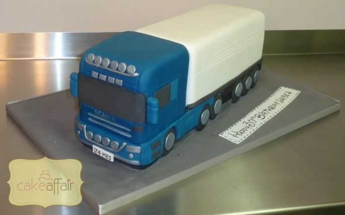 how to make a lorry cake - Google Search
