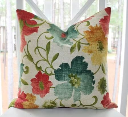 gold blue green red pillow - Google Search