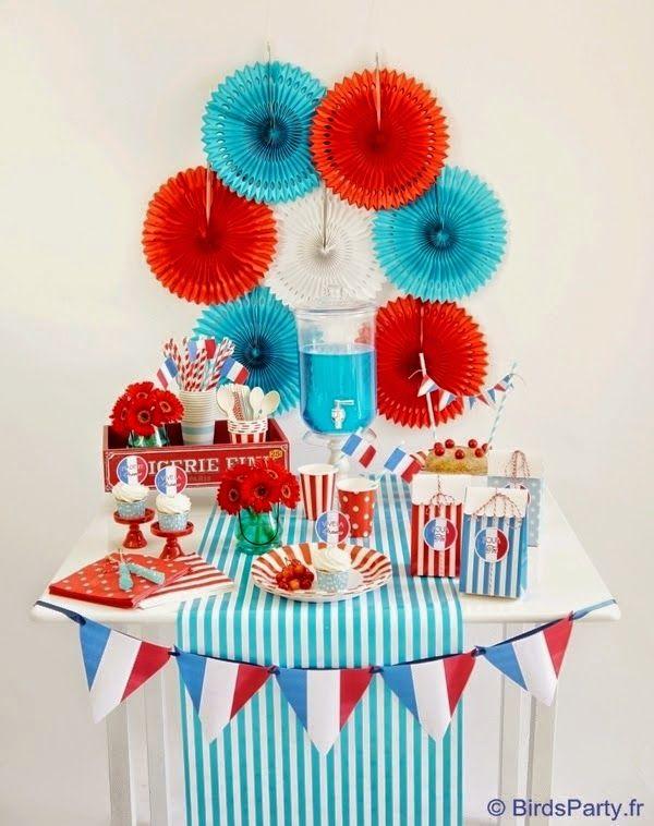 Le 14 juillet on se la joue Bleu Blanc Rouge ... by Madmoizelle Cupcake