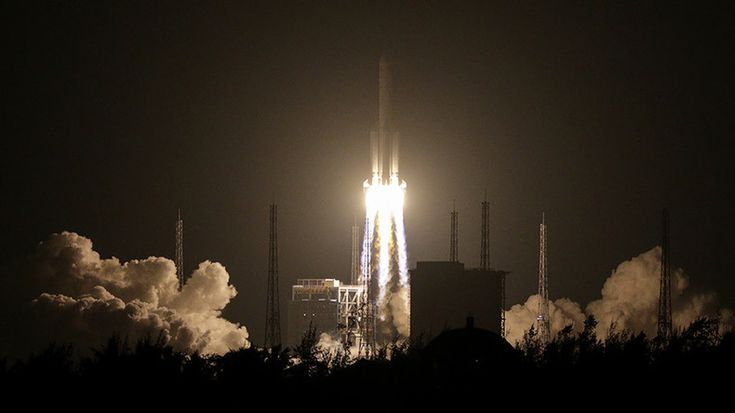 07/02/2017 - Long March 5 rocket launch fails – Chinese state media (VIDEOS)