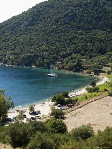 Poli bay in Vathy, Ithaki