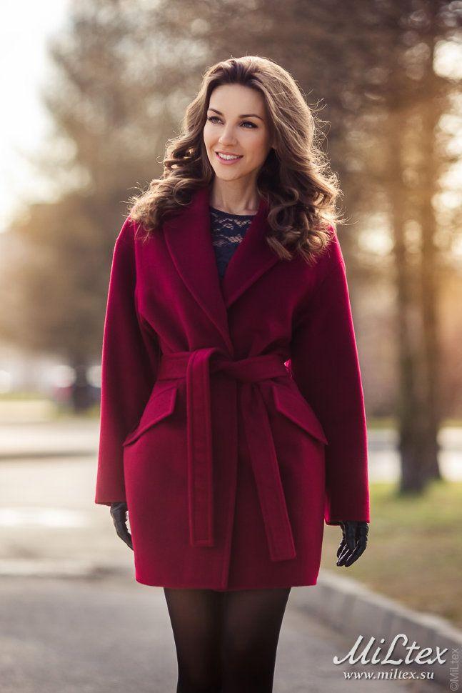 Шерстяные пальто от петербургского производителя!