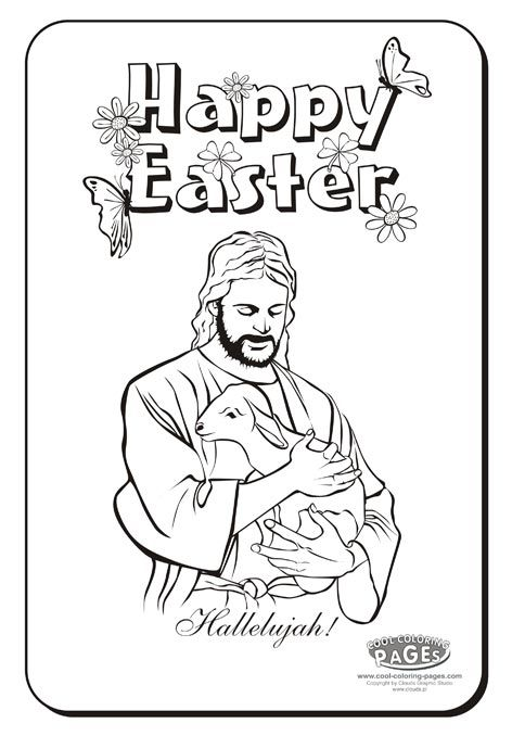 Religious Easter Coloring Pages To Print