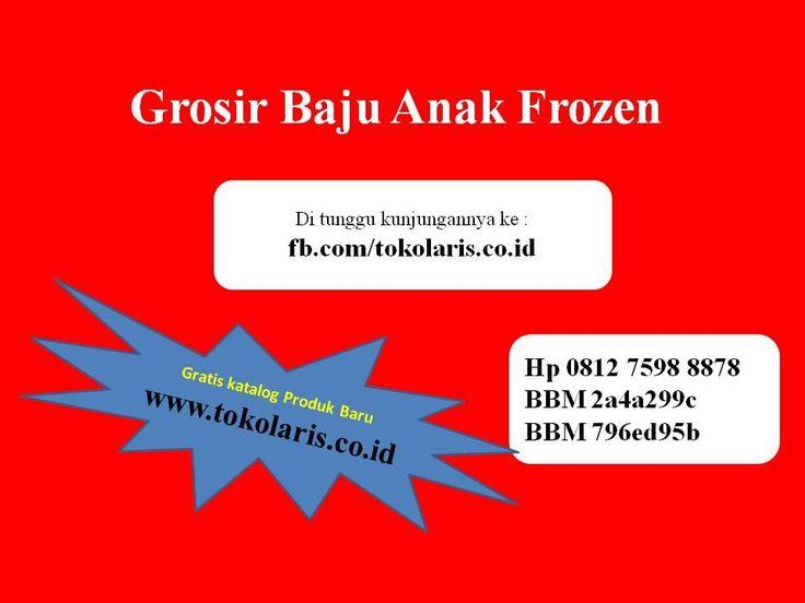 0812 7598 8878 | Grosir Baju Anak Karakter Frozen Murah