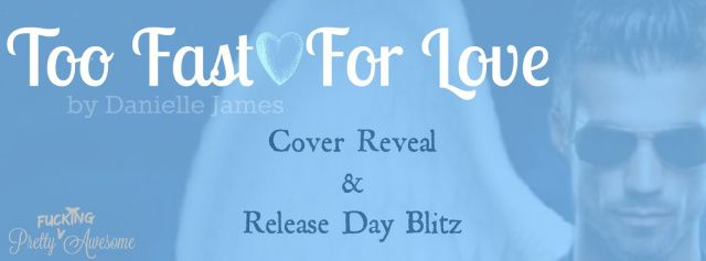 Happy Release Day Danielle James And A Giveaway For You!  Title:Too Fast For LoveAuthor:Danielle JamesGenre:Paranormal/Fantasy Romance  Blurb:  Protect Chloe.  Easy enough for a Guardian Angel  Right?  Wrong.  Zeke has been with Chloe since the day she was born and loved her longer than he can remember. A destiny that will affect all angels awaits her but she is her own worst enemy! Chloe has a need for speed and a love for all things dangerous.  She isnt her only enemy though.  There are…
