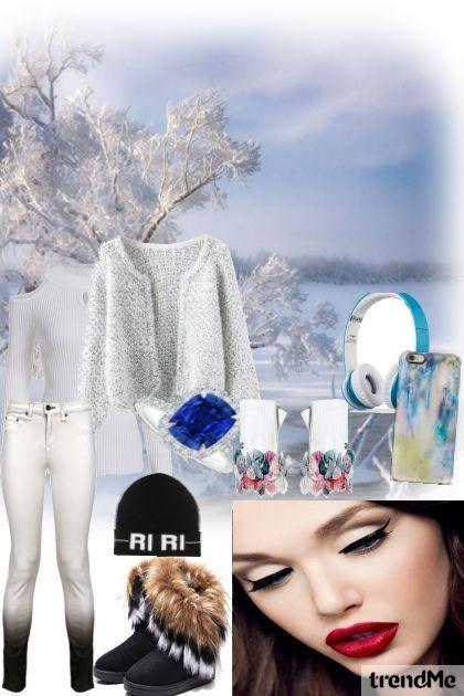 walk in snow from rina01 - trendme.net