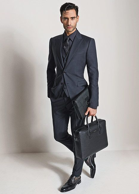 Office Look Dolce And Gabbana Winter 2016 Man Collection Suits Blazers