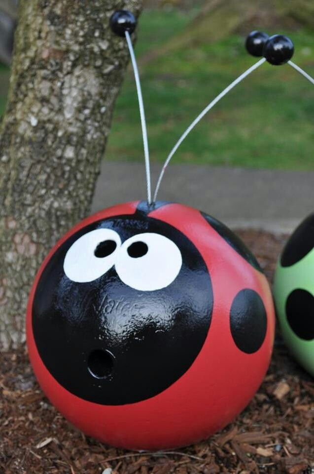 Recycled Bowling Ball