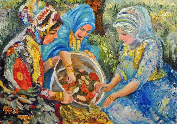 الفنان صباح محي الدين الزهاوي Iraqi/Kurdish artist sabah moheddine elzahawi - Kurdish art