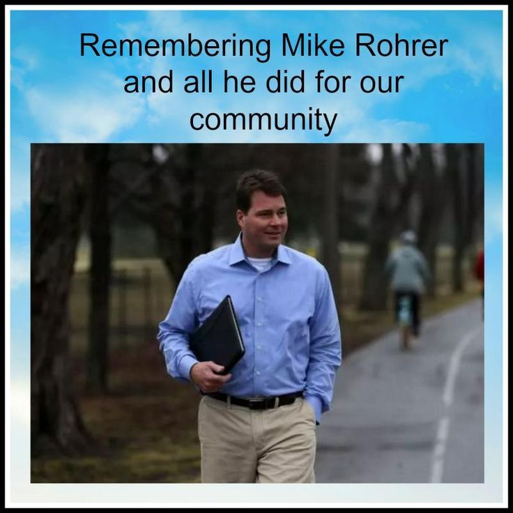 """Thank you to Mike Rohrer. -  http://windsorstar.com/storyline/tecumseh-councillor-mike-rohrer-suddenly-passes-away  """"Michael Rohrer was a former tenant of mine when he was in university. He was upstanding, passionate about his beliefs, a hard worker and down to earth. He will be missed by many.  Thank you for all you gave to Windsor and Essex County Michael.  We salute you.""""  (From Joan Murchison, the one who our Windsor VarageSale community.)"""