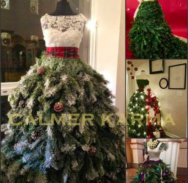 Christmas Party Entertainment Ideas Part - 19: What A Stunning And Creative Holiday Tree! Saw On FB (donu0027t Know The  Creator Or Have A Link). Find This Pin And More On CHRISTMAS PARTY  ENTERTAINMENT IDEAS ...