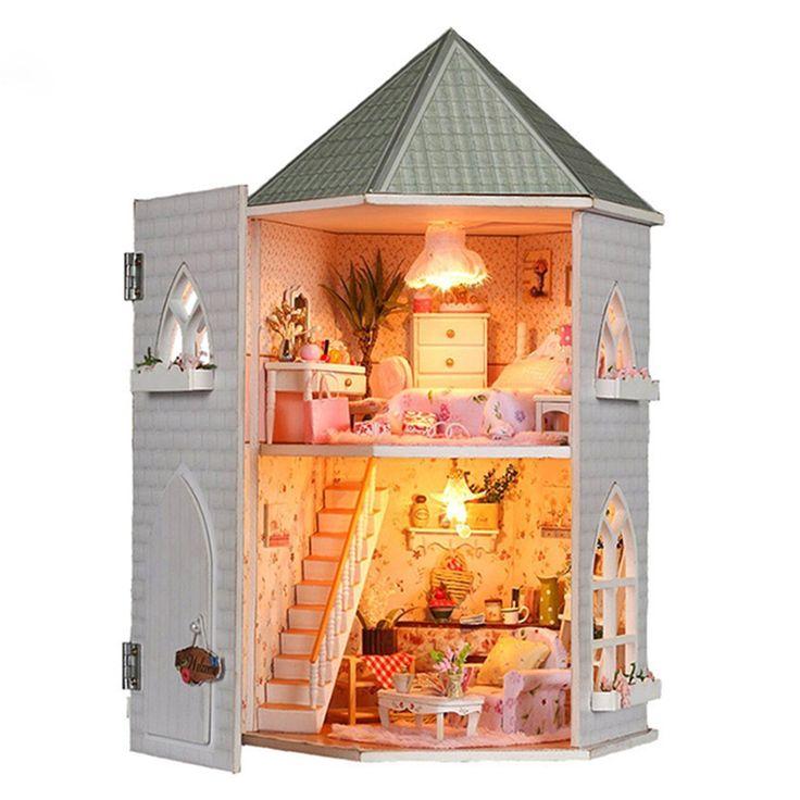 76 best dollhouse kits images on pinterest dollhouse miniatures diy dollhouse miniature traveller time dollhouse kit by unitime solutioingenieria Images