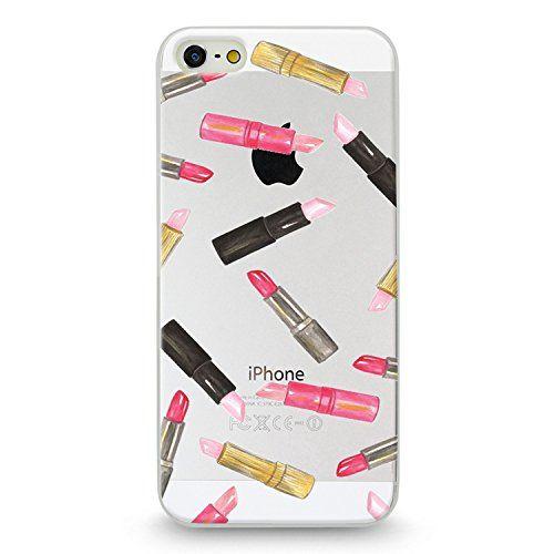 Handyhülle für Apple iPhone - Lippenstift :-*