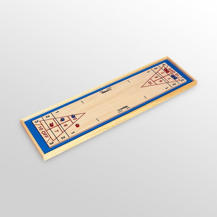 Carrom 44 in. Shuffleboard Table Top Game - 650.01