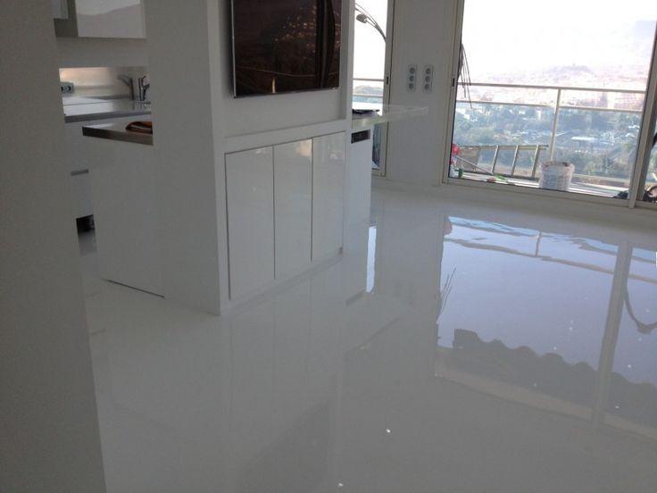 loft sol epoxy chic recherche google sol autolissant resine beton pinterest epoxy. Black Bedroom Furniture Sets. Home Design Ideas