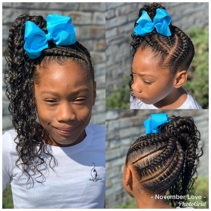 Children's Braids and Beads! Booking Link In Bio! #ChildrenHairStyles #BraidArt #ChildrensBraids #BraidsAndBeads