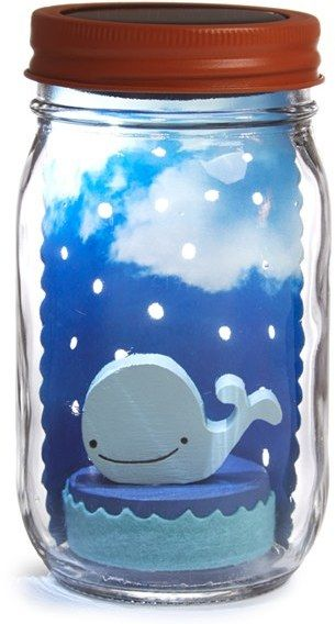 Mason jar nightlight for children