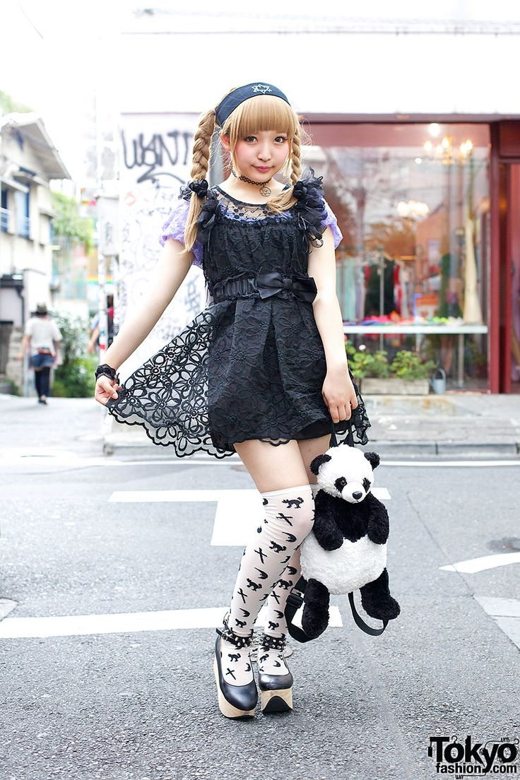 Here's A 16-year-old Harajuku Girl With A Super