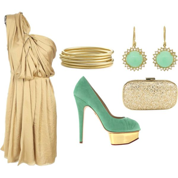Golden Goddess, created by zionsmama on Polyvore