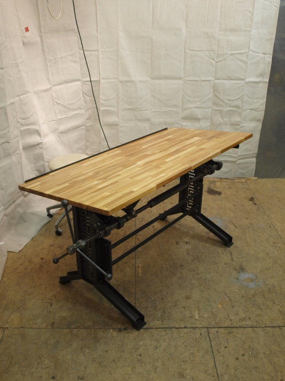 17 Best Images About Industrial Desks On Pinterest Pipe